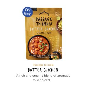 Passage to India Butter Chicken