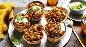 Butter Chicken Roti Bowls Recipe