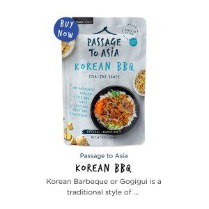 Passage to Asia Korean BBQ