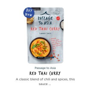 Passage to Asia Thai Red Curry