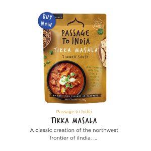 Passage to India Tikka Masala