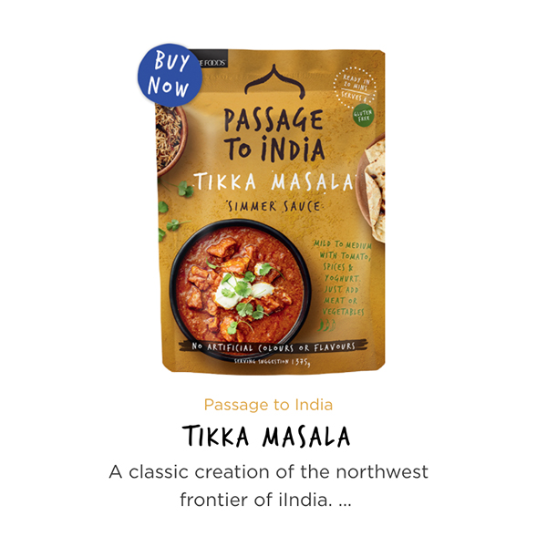 Passage to India Tikka Masala
